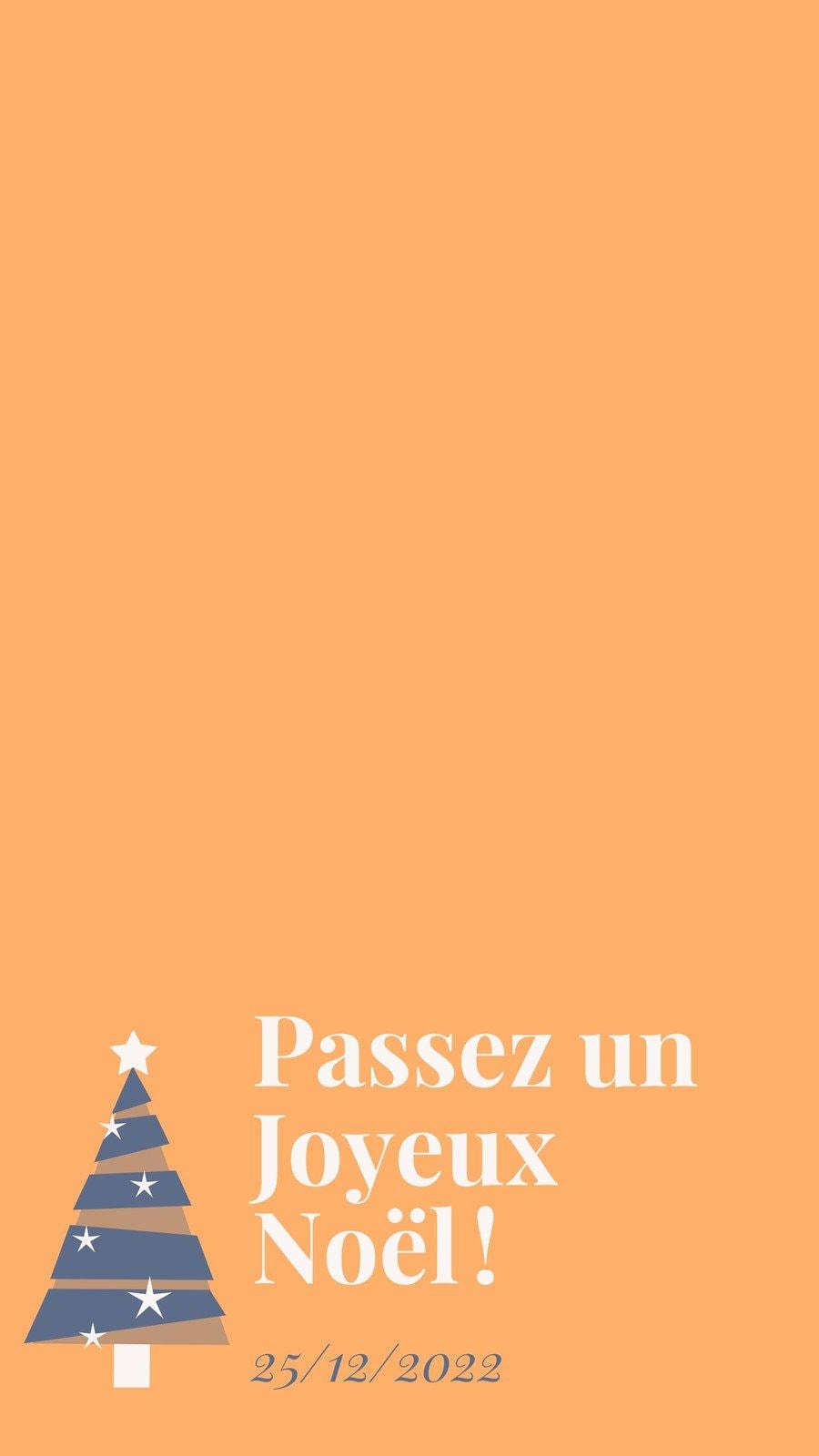 Filtre Snapchat Arbre de Noël