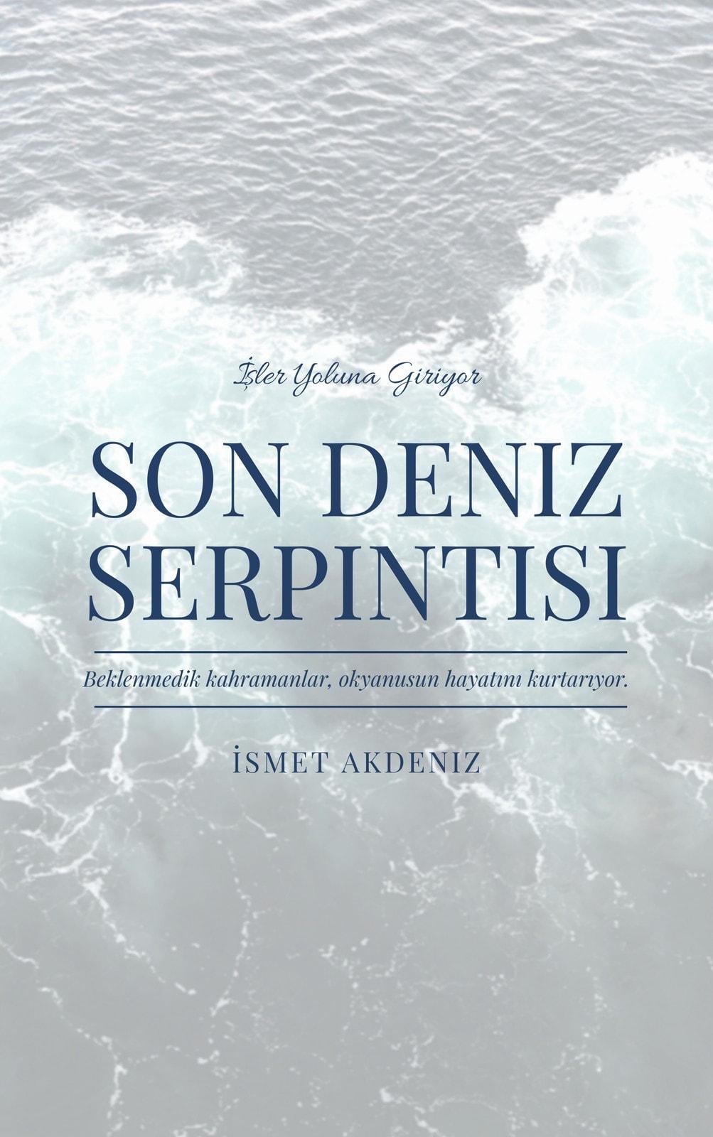 Okyanus Dünyanın Sonu Gerilim E-kitap Kapağı