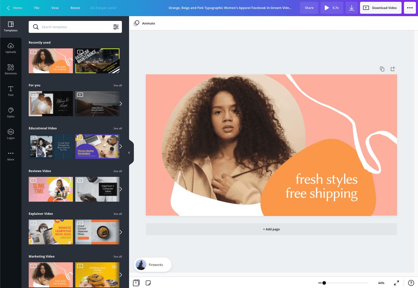 كيفية إنشاء إعلان فيديو