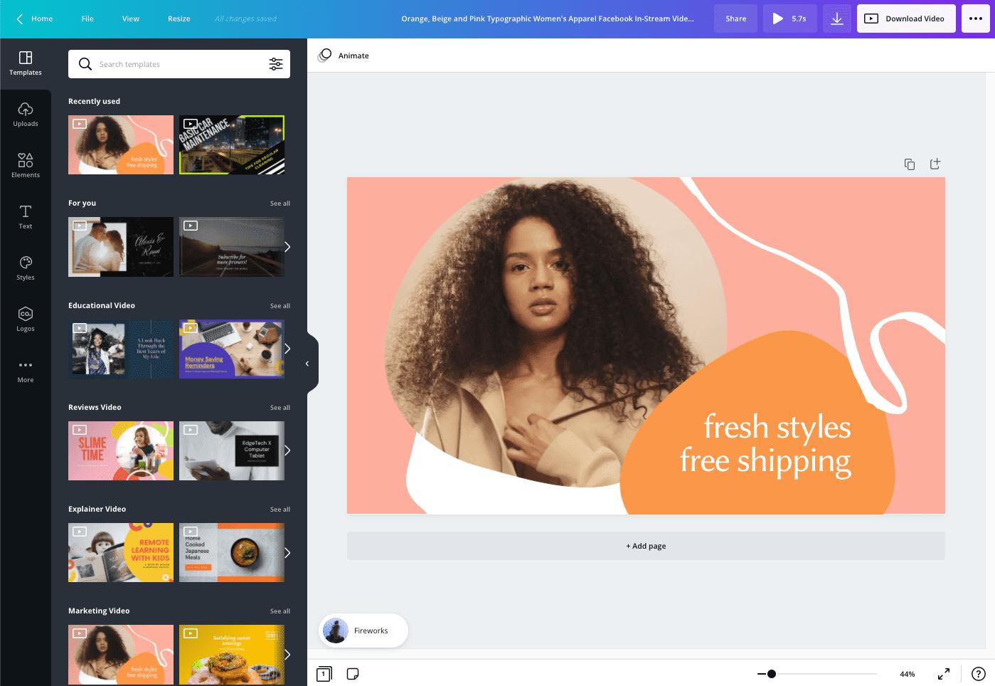 Een videoadvertentie maken