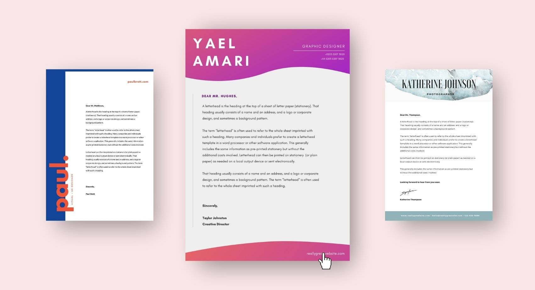 Create Cover Letters