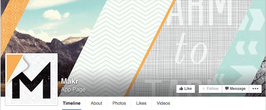 Pattern texture Facebook cover