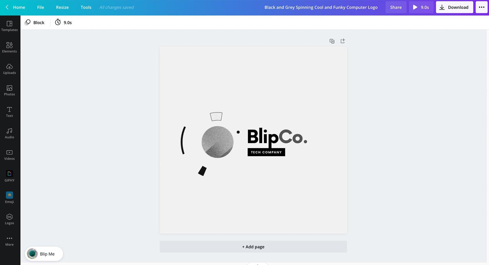 Create Animated Logos