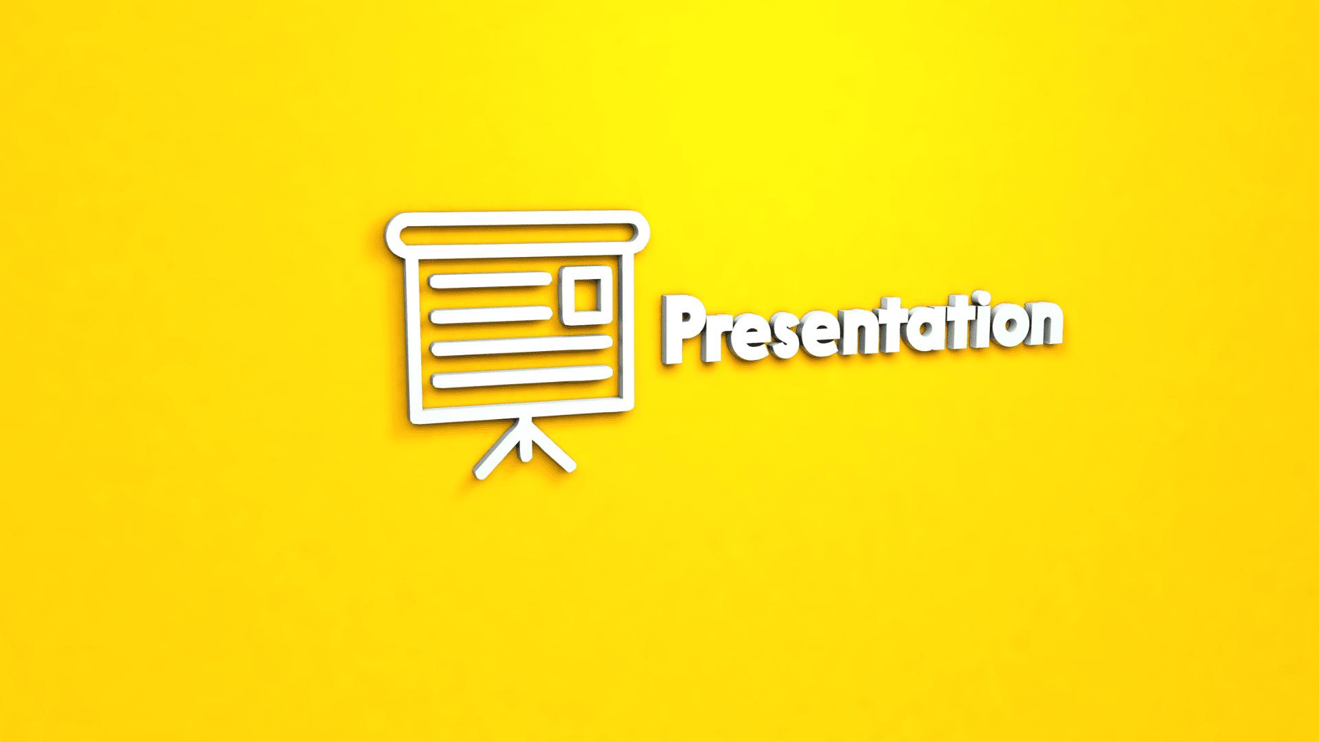 шрифт для презентации баннер