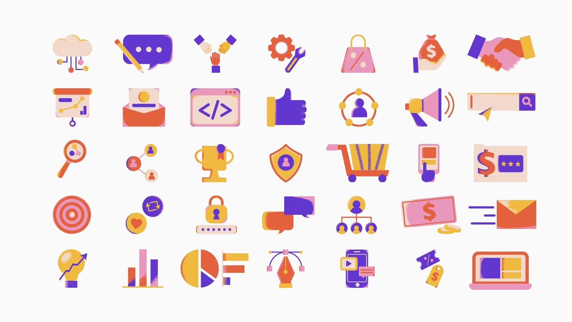 иконки для презентаций баннер