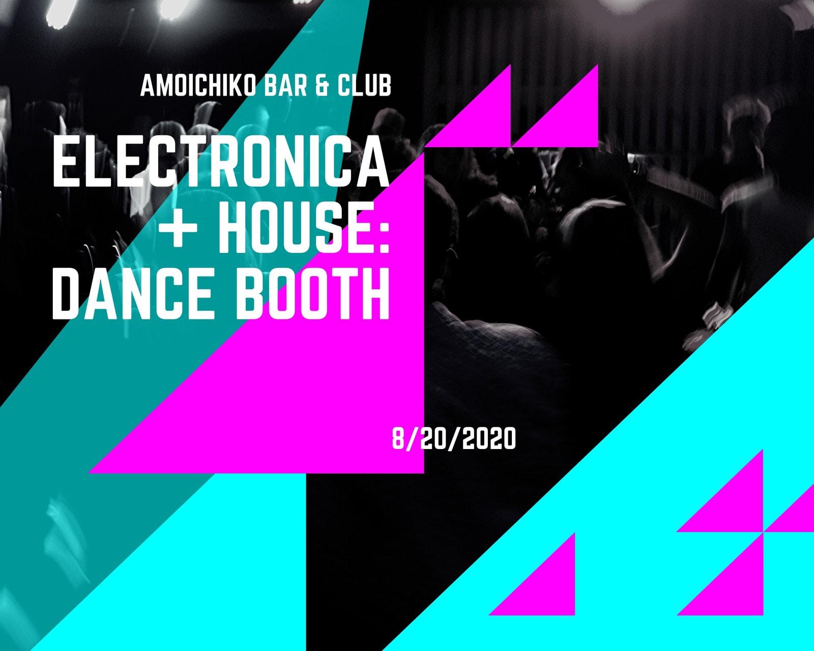 Electro House Photo Collage