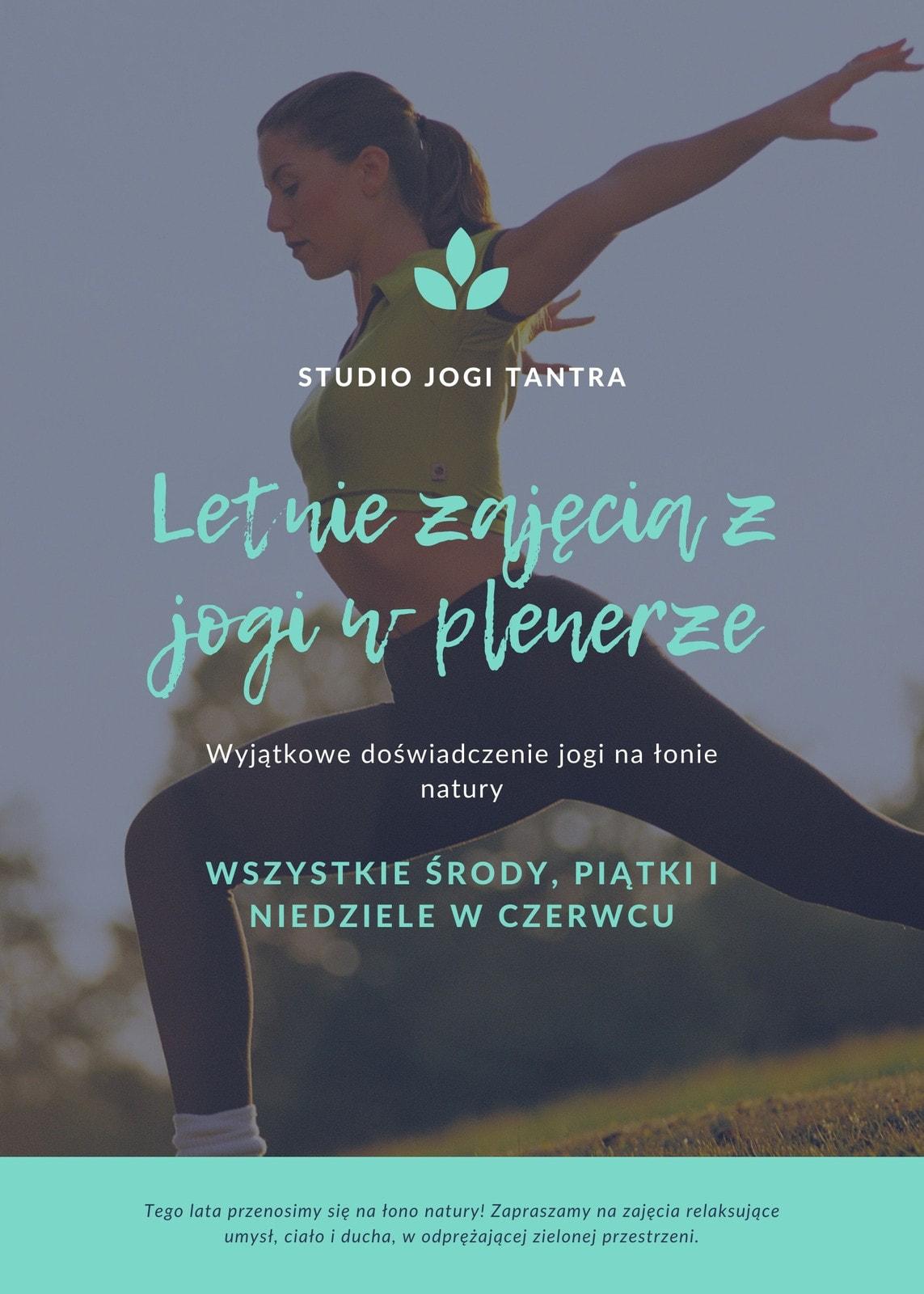 Miętowa Joga Fitness Ulotka