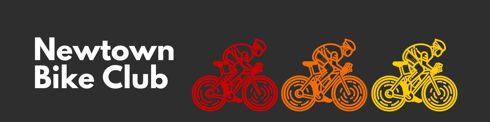 Red Orange Yellow Colorful Bikers Etsy Shop Cover Banner