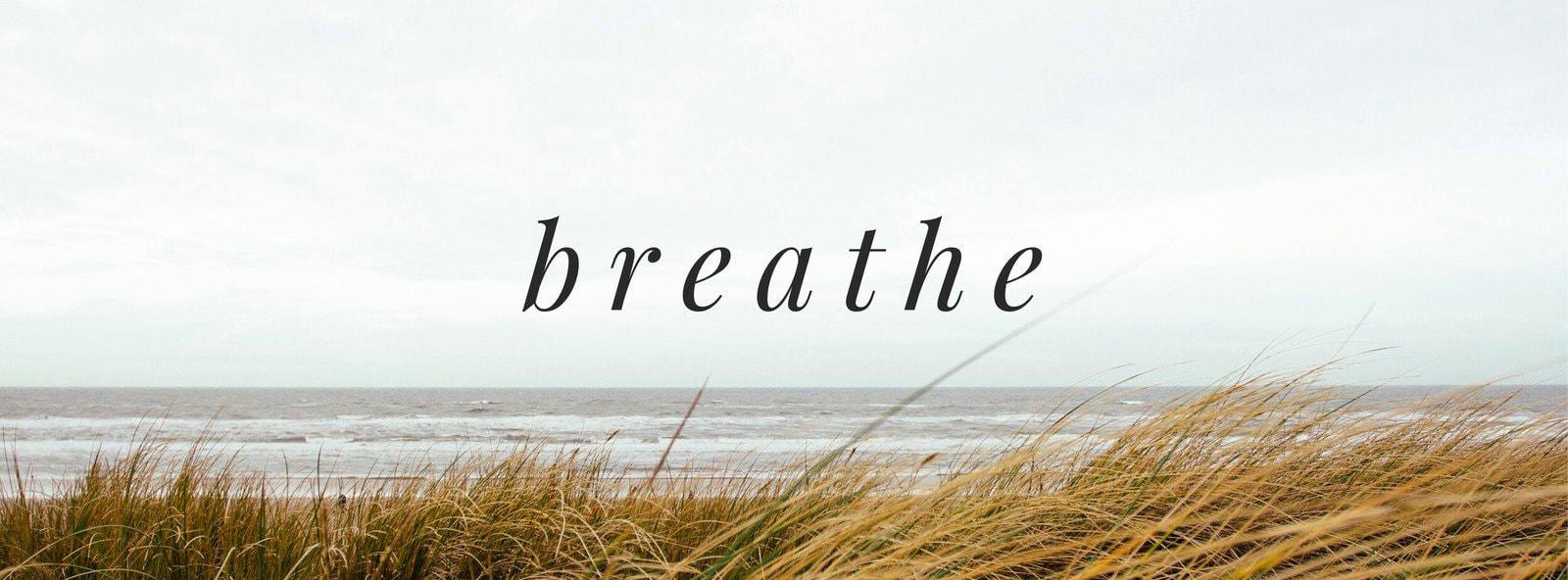 Breathe Facebook Cover