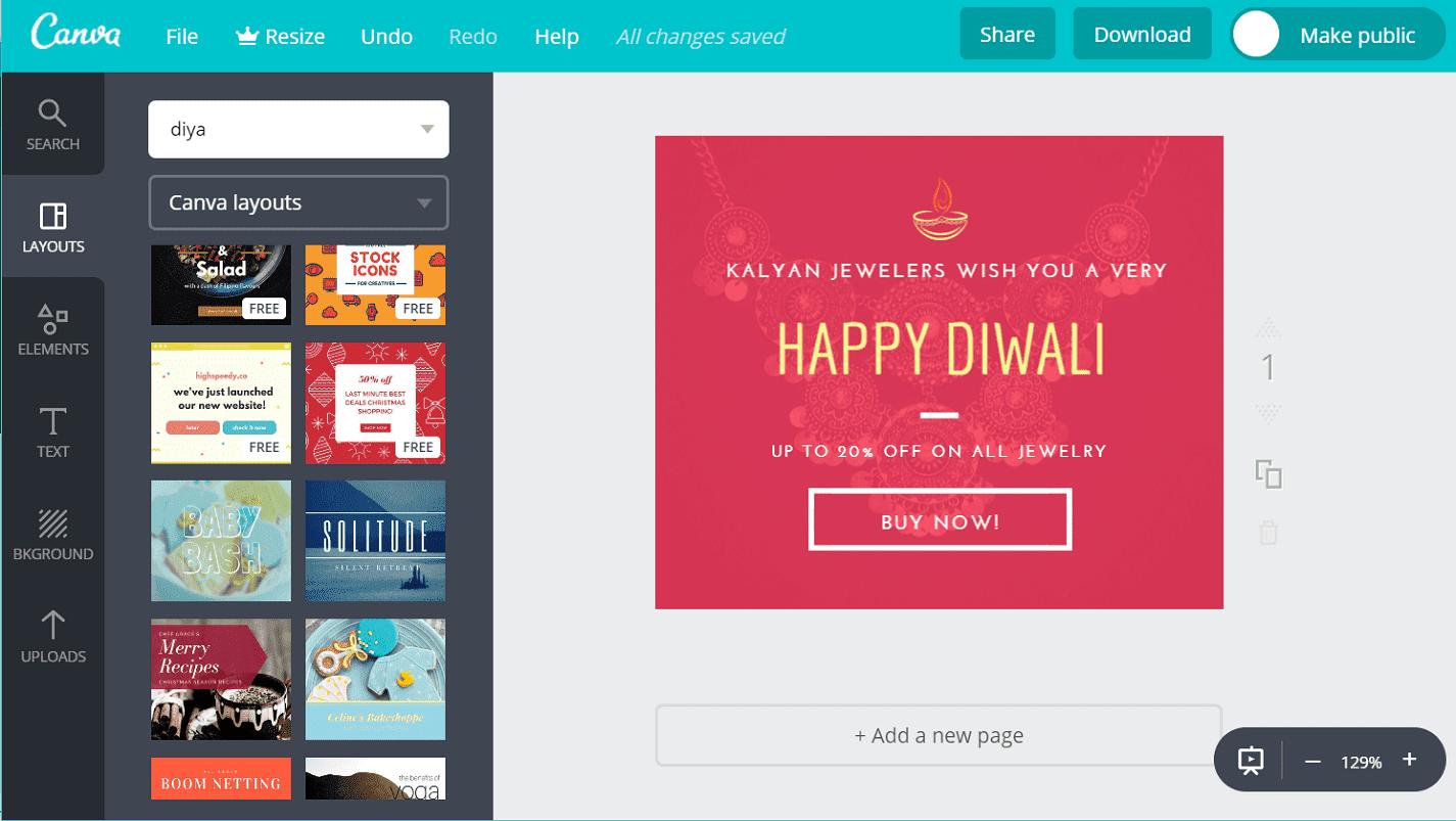Diwali Banners