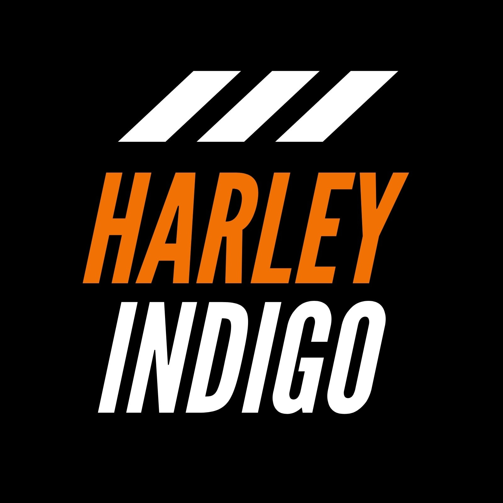 Orange Black and White Football Modern Action Twitch Profile Picture