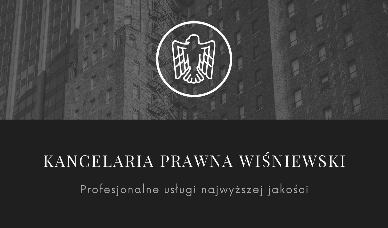 Czarna Biała Zdjęcie Radca Prawny Wizytówka