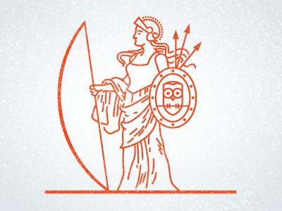 Atenea - Mitos griegos para mejorar la comprensión lectora