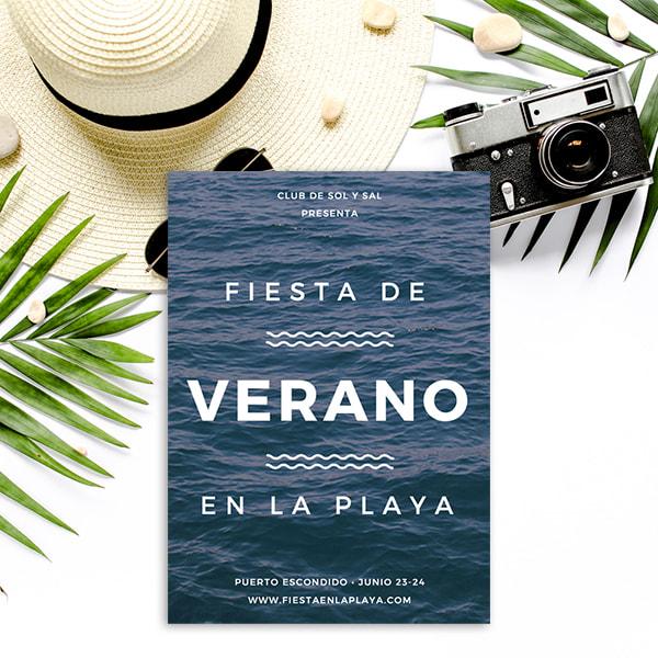 Fiesta - Beach Party Flyer
