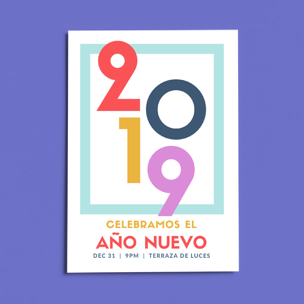 Fiesta - Colorful New Year Party Flyer