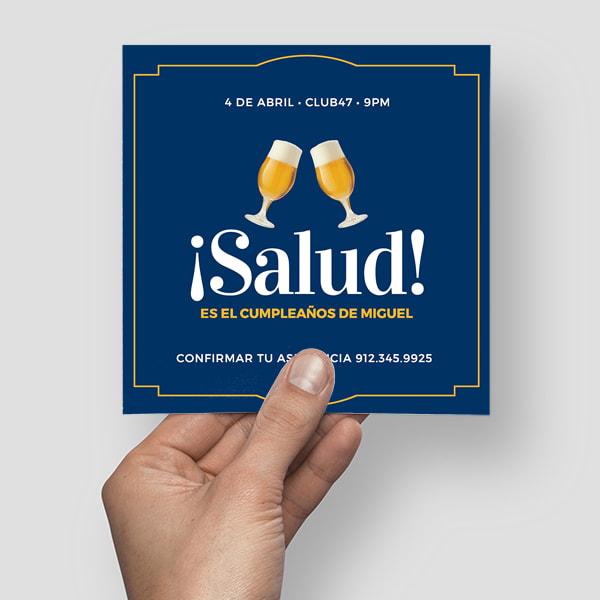 Cumpleanos-Cheers-Beer-Birthday-Invitation