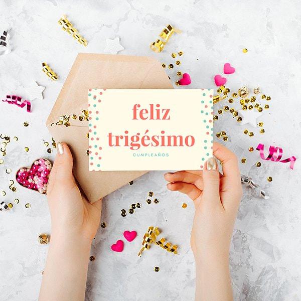 Cumpleanos-Cream-and-Orange-Circles-Birthday-Card