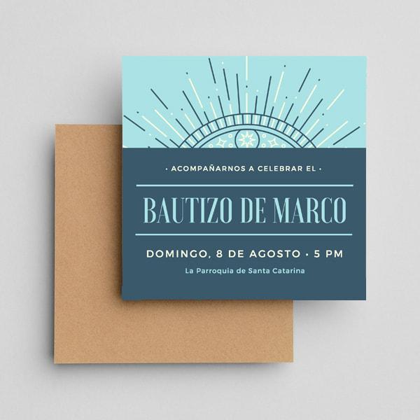 Bautizo-Blue-Navy-Stars-Boy-Baptism-Baby-Shower-Invitation