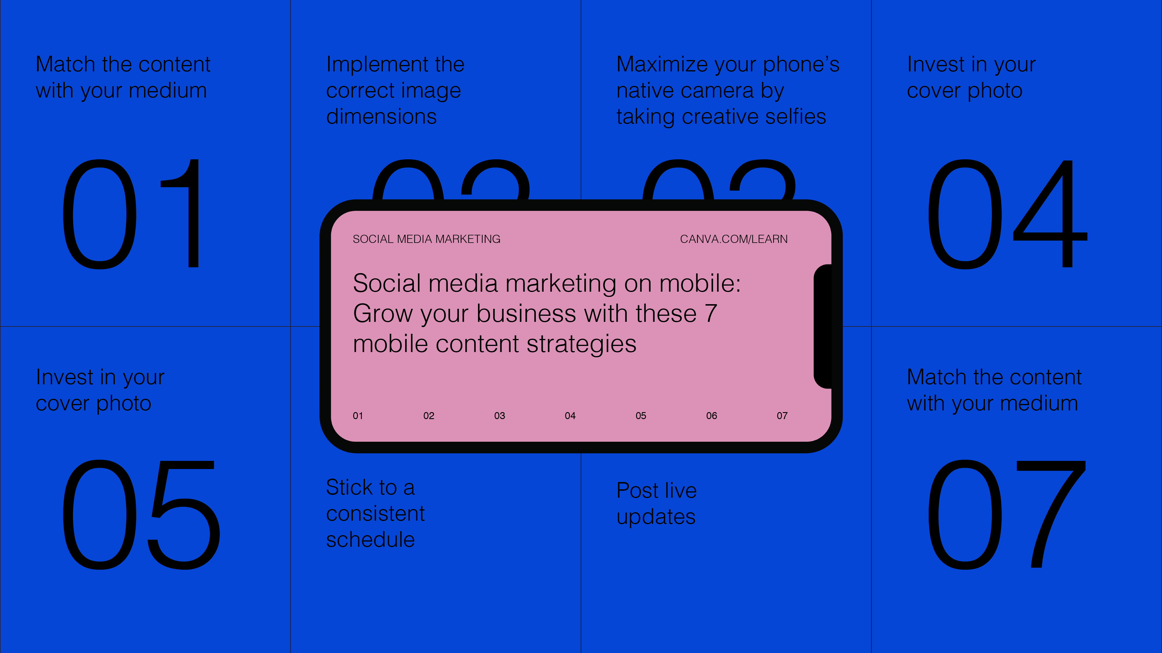 Social media marketing on mobile- Grow your business with these 7 mobile content strategies