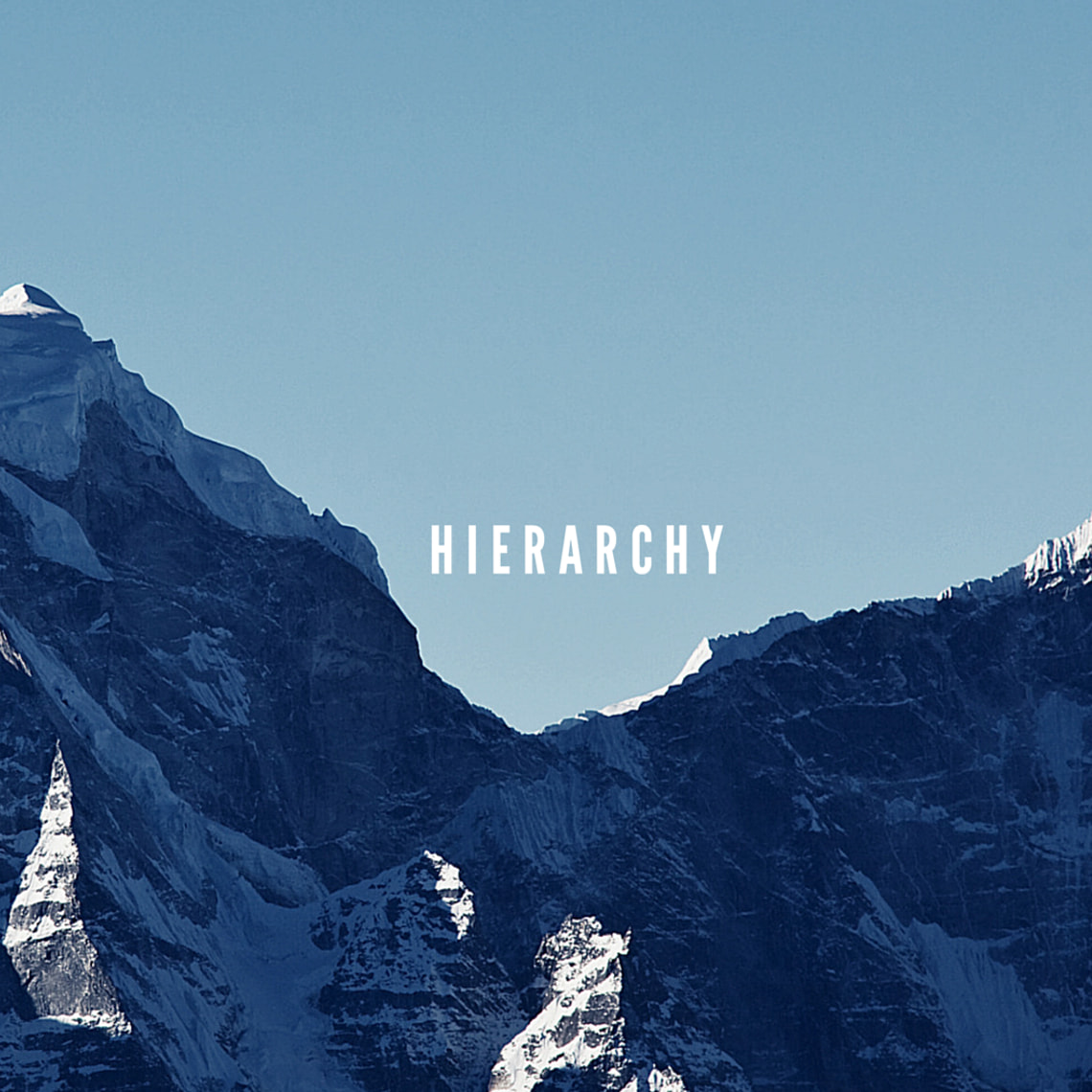 Hierarchy applies order to your designs and makes sure the most important elements are seen first