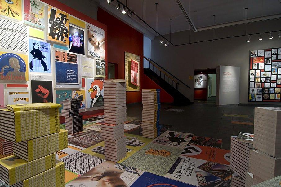 Masters Series: Steven Heller exhibition documentation