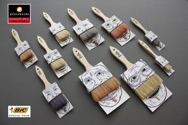 1. Paintbrush Simon Laliberte