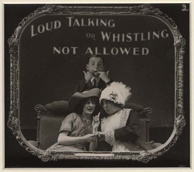 01. Loud Talking or Whistling Not Allowed