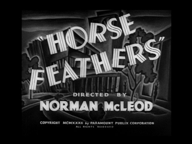 06. Horse Feathers 1932