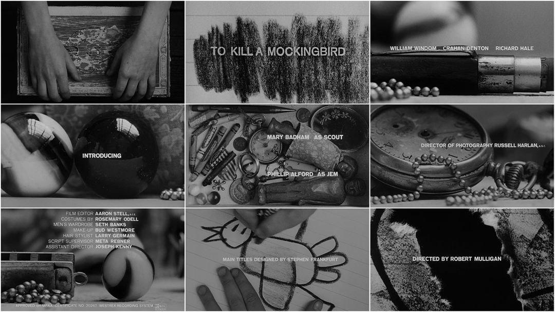 21. To Kill a Mockingbird 1963