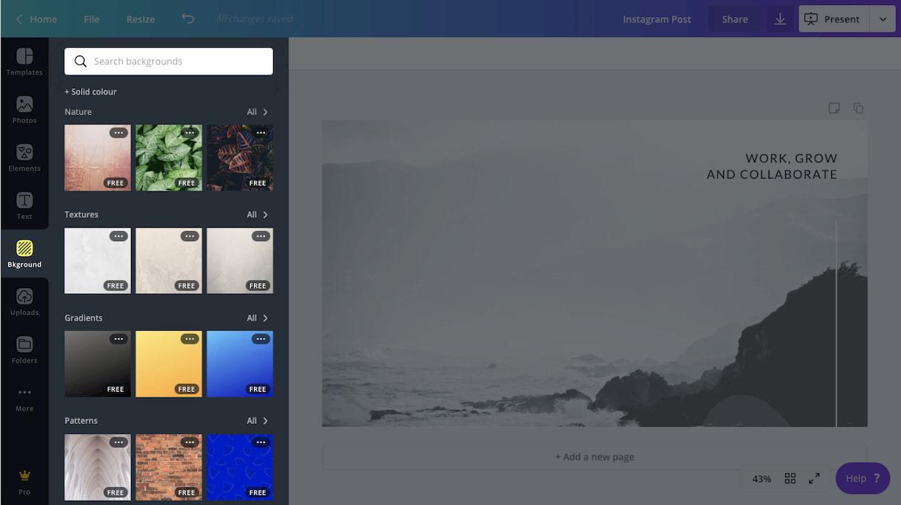 Backgrounds Pro