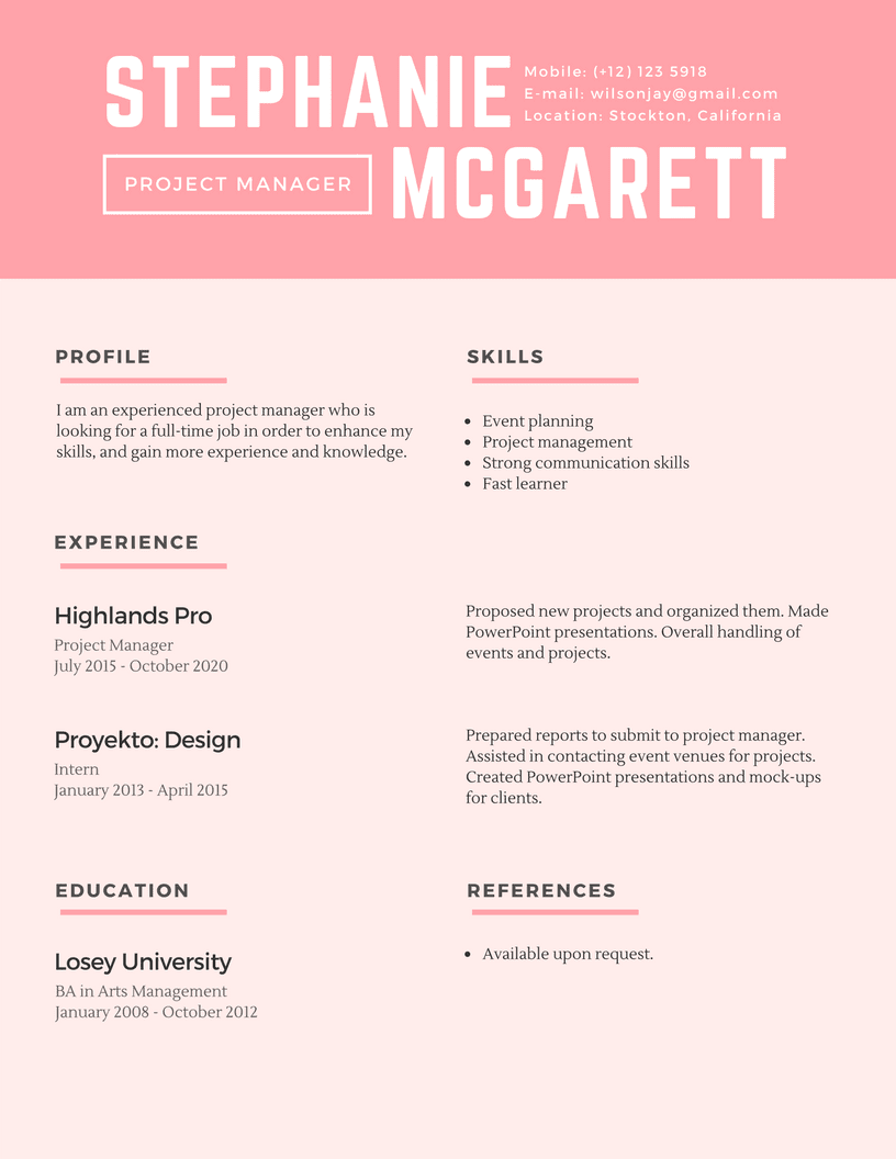 blue-lines-simple-resume-2-1