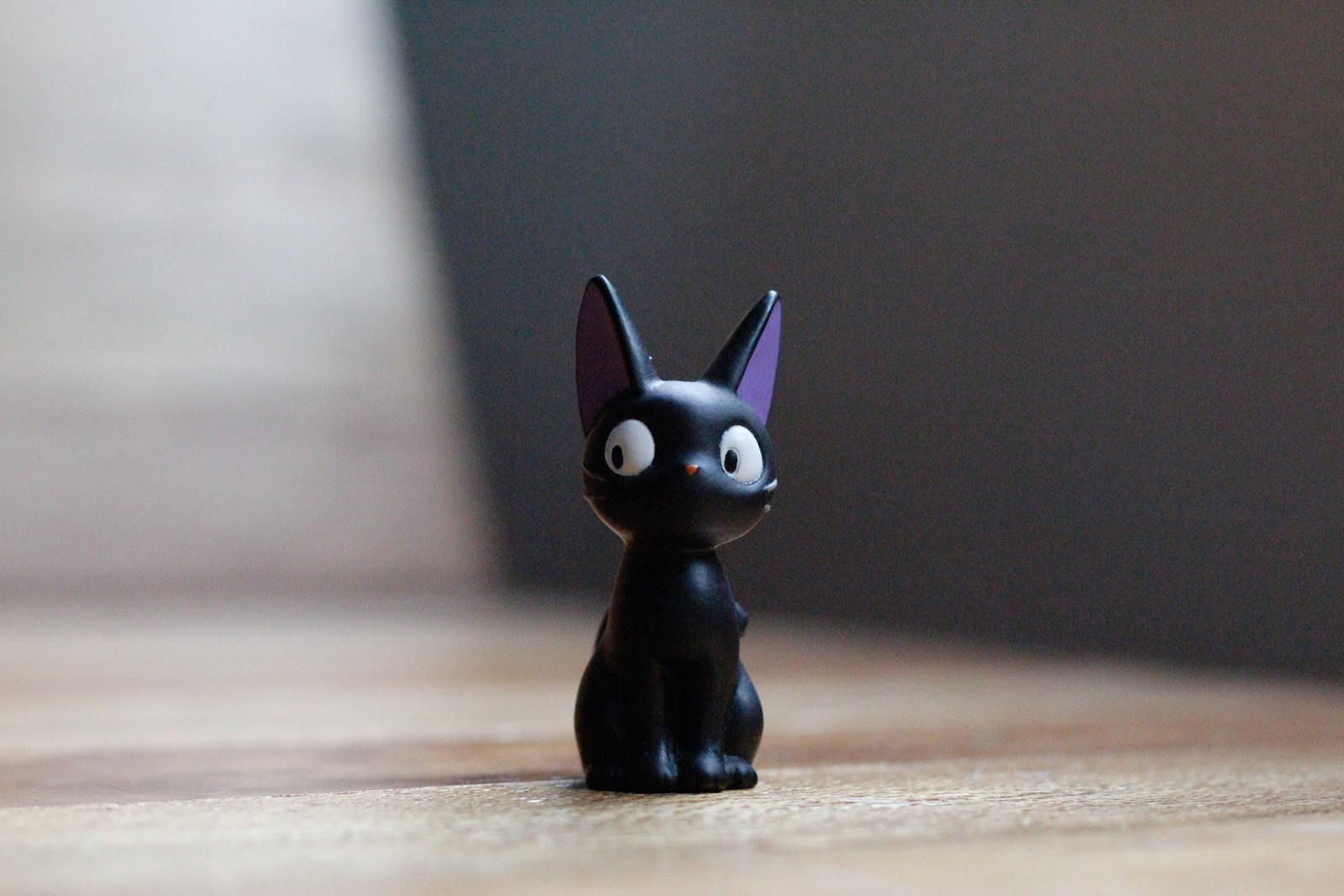 Black toy cat