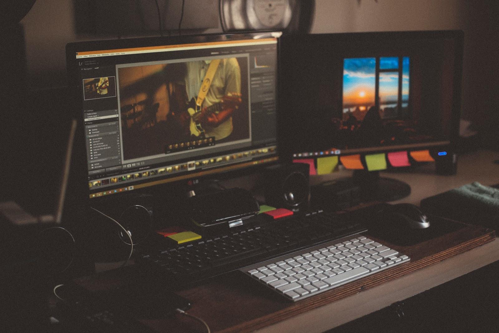 Computer image editing