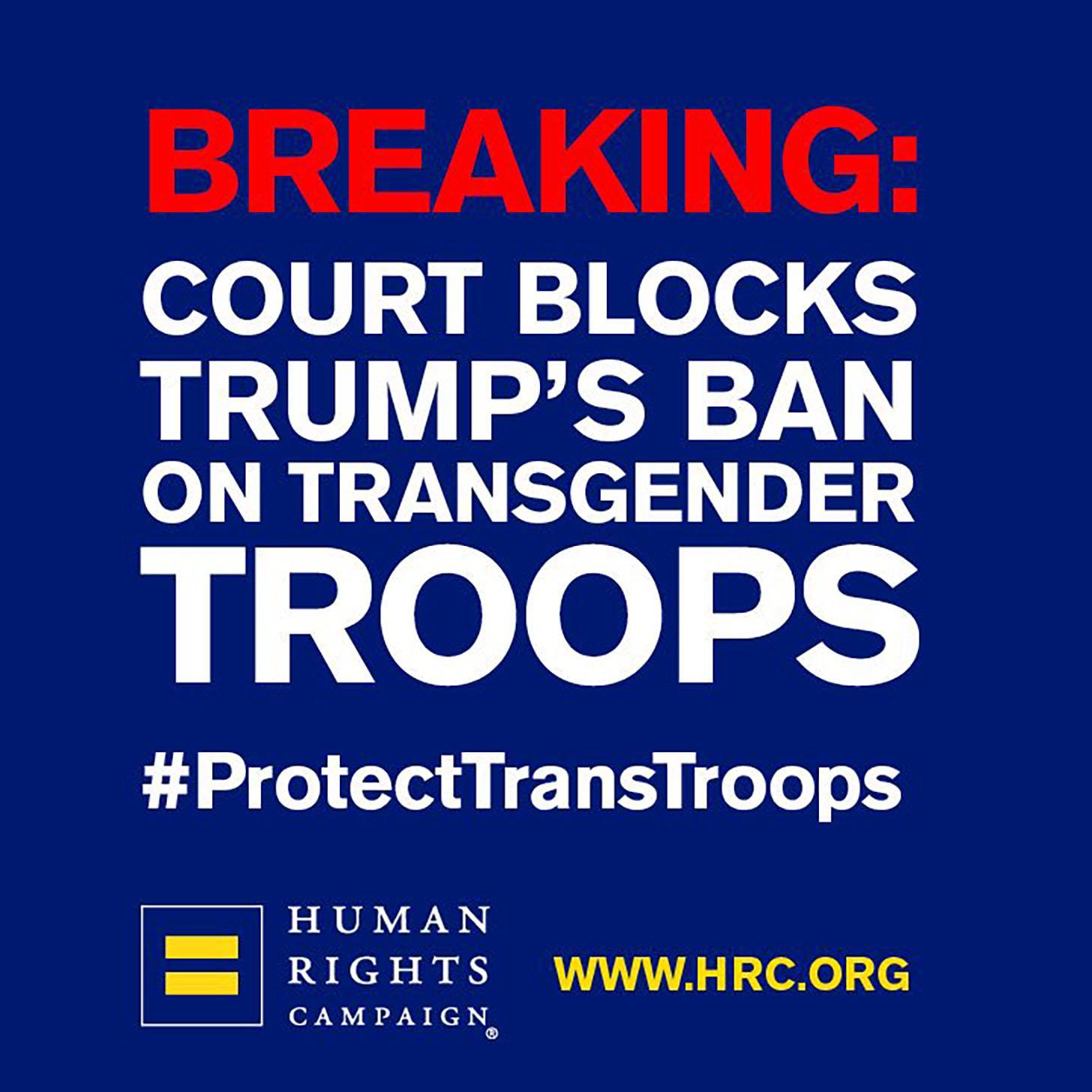 HRC Twitter post