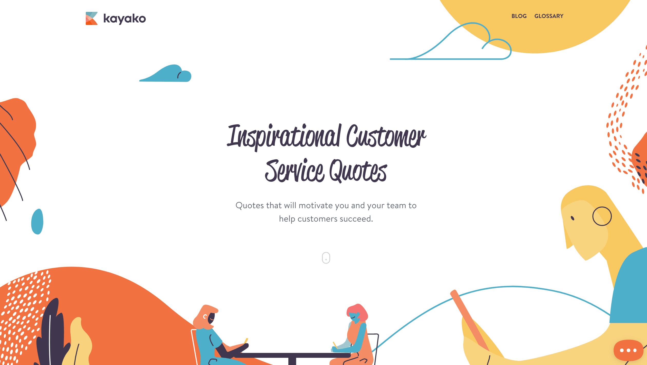 Kayako Customer Service Quotes
