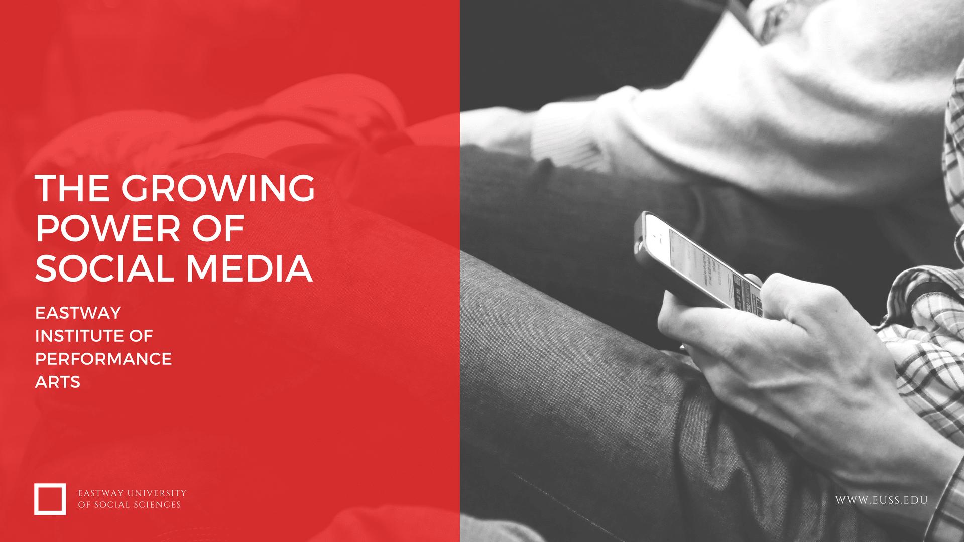 Growing Power of Social Media
