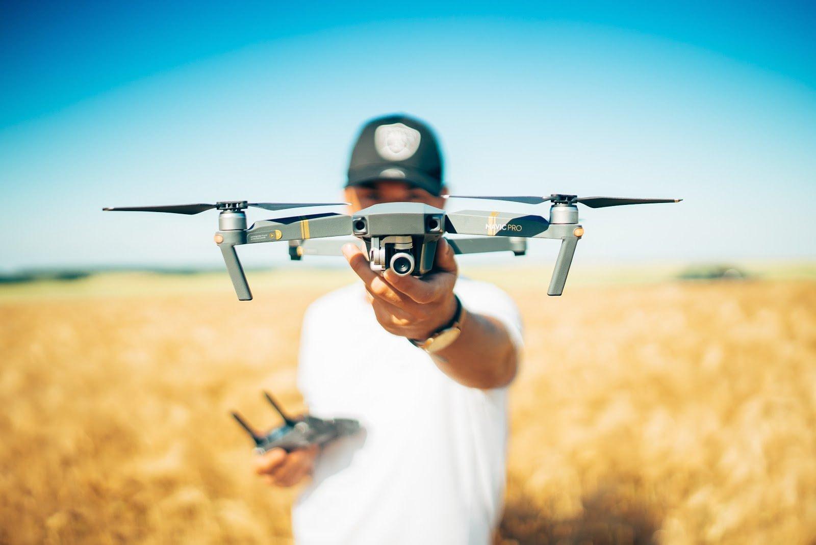 Guía para iniciarse en la fotografía con drones Mini 2 DJI