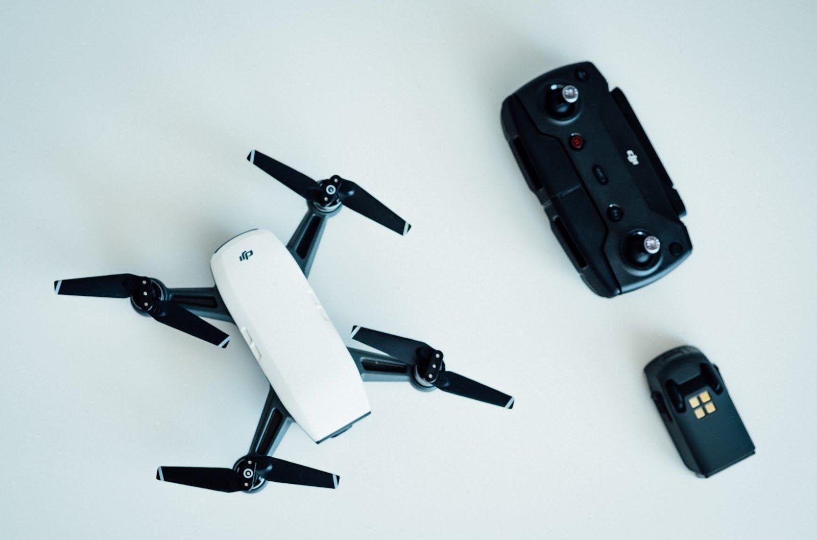 Baterías drones fotografía