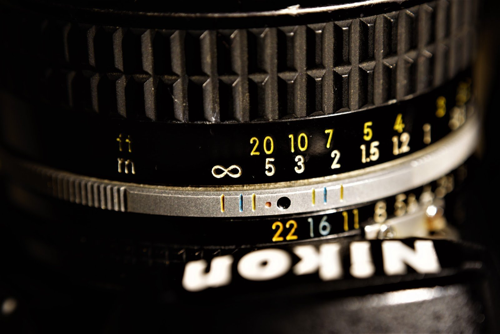 Close up of a camera lens by Chad Verzosa