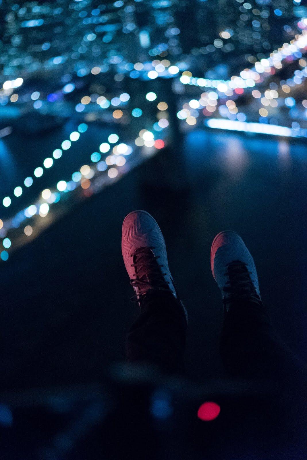 City lights bokeh as an example of depth of field photography by Matt Nelson