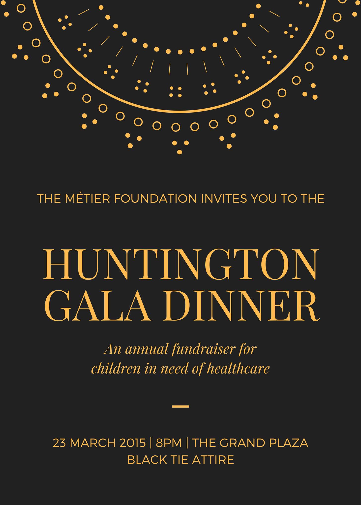 Huntington Gala Dinner