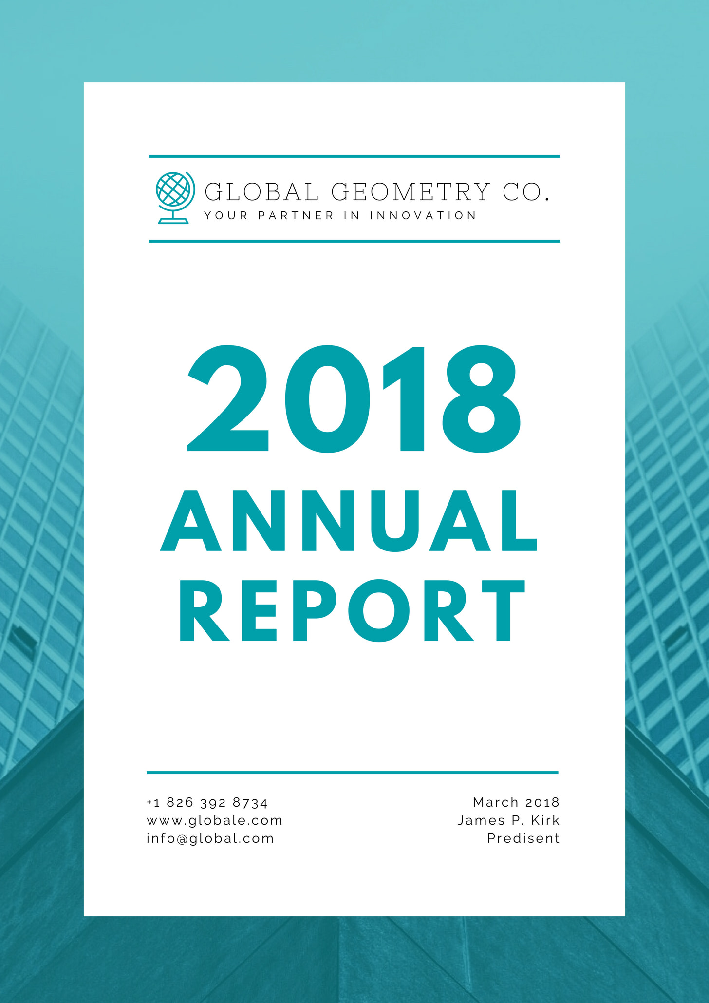 Turquoise Modern Annual Report