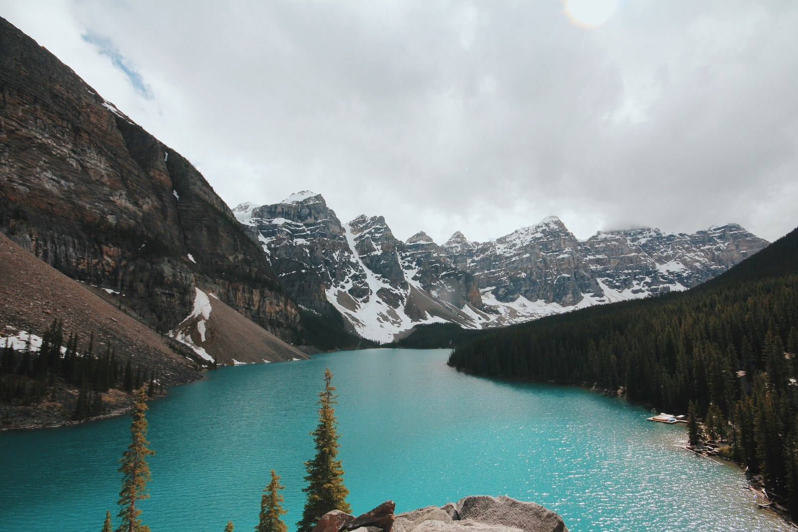 Cold mountains and blue waters photo by Christine Donaldson