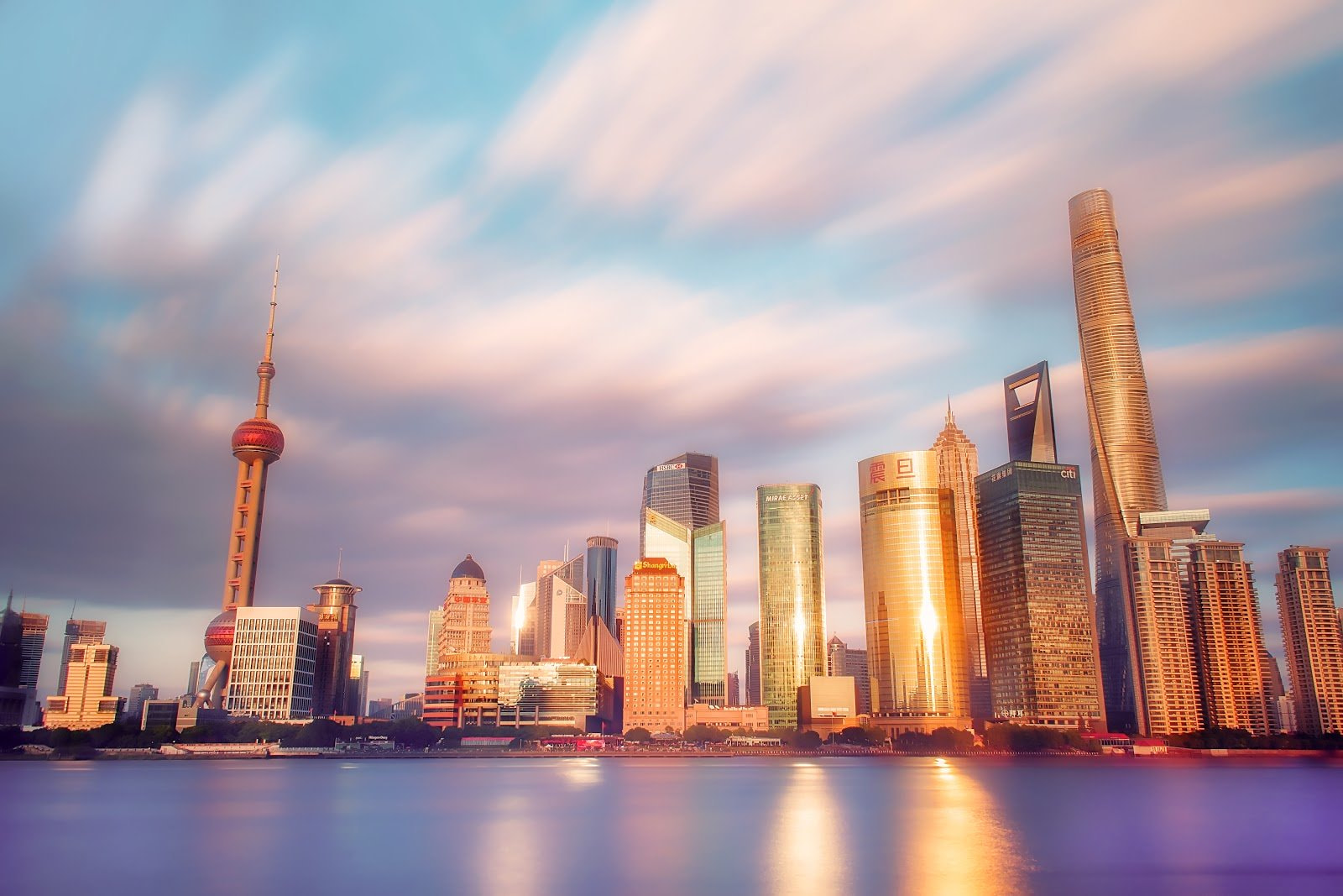 City skyline by Zhang Kaiyv