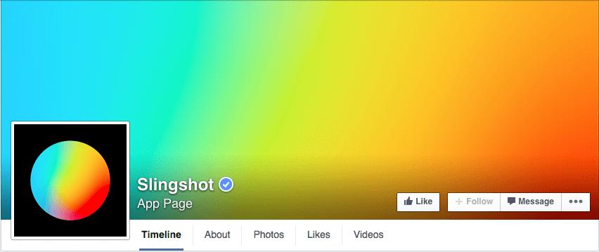 Gradient Facebook cover