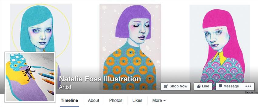 Beautiful creative Facebook cover