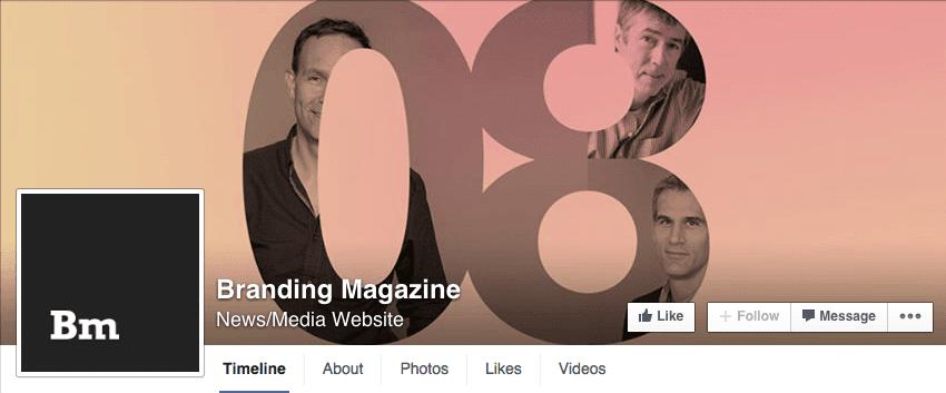 Subtle message Facebook cover