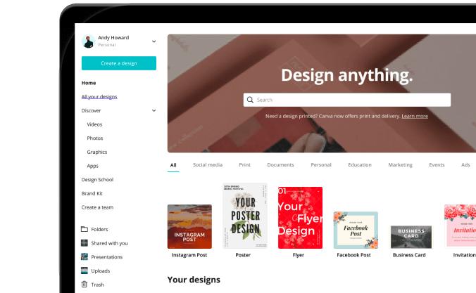 Canva tutorials-getting-started - Design School