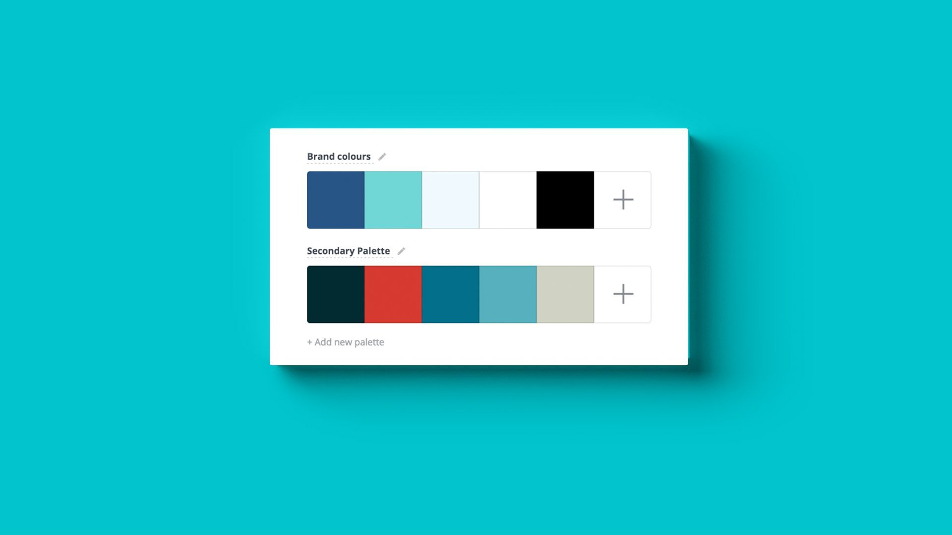 how to create color palette