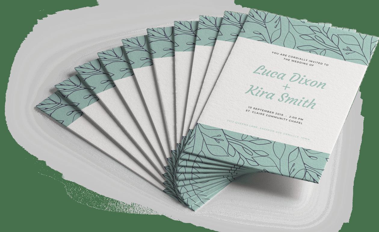 Design and Print Invitations on Canva